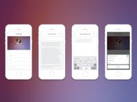 CrowdRise Profile Mobile View