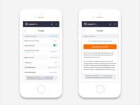 CrowdRise User Settings - Responsive Funds Page