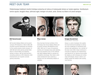 Hallpass Media Website - Our Team Profile