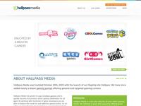 Hallpass Media Website - Landing
