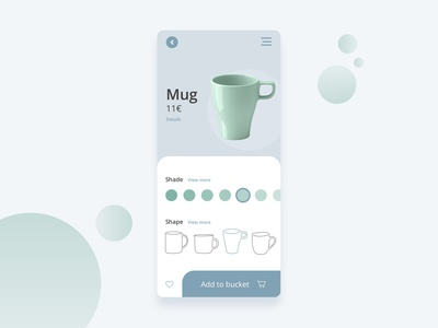 Customize Product Daily UI 033 dailyui033 vector colours branding ux ui dailyui33 app ecommerce dailyui dailyuichallenge