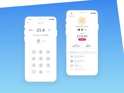 Daily UI 004 Calculator splitbill calculate ux ui design dailyui app