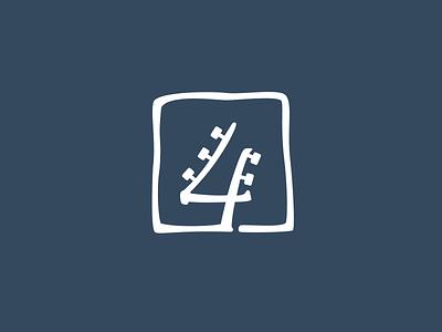 Pick4Song startup font logo guitar music