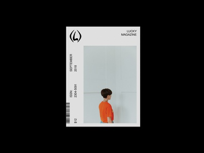 Lucky Magazine Redesign brutalist editorial fashion magazinedesign printdesign