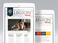 American Legion Redesign