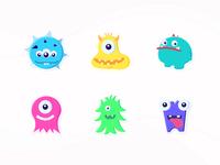 Little monsters in my heart