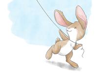 Little Bunny - Kite Flying