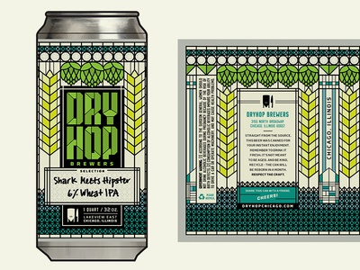 DryHop Beer Can Design