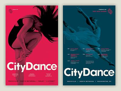CityDance Posters poster ballet dance