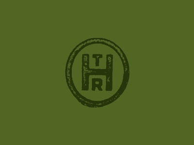 The Hop Review h hop green initials badge monogram beer