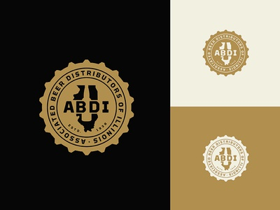ABDI Badge Logo badge logo badge beer bottle illinois bottle cap beer cap beer logo beer