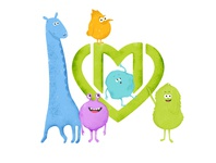 Mascots for Moscow polyclinics