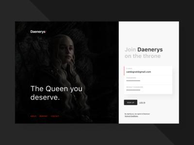 Vote #1 Daenerys