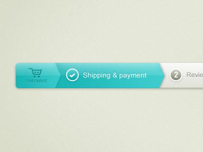 Checkout progress bar r.2 checkout shopping steps