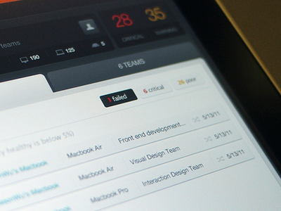 Device management - iPad - UI/UX/iOS ipad ios app dashboard ui it mobile list management