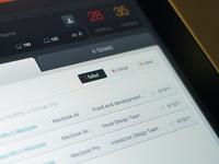 Device management - iPad - UI/UX/iOS