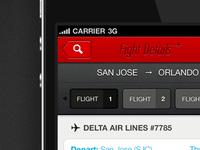 Flight Details - iPhone (retina)