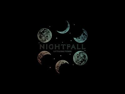 Little Big Town - Nightfall Moon moons apparel design apparel merch design merchandise merch music country little big town moon nightfall