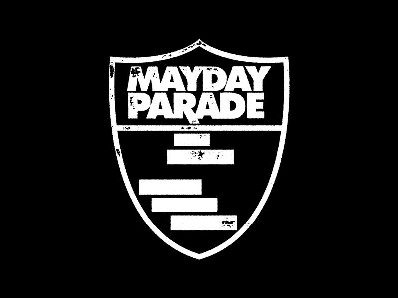 Mayday Parade Shield By Corey Thomas Dribbble