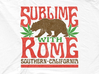Sublime With Rome - Cali Bear