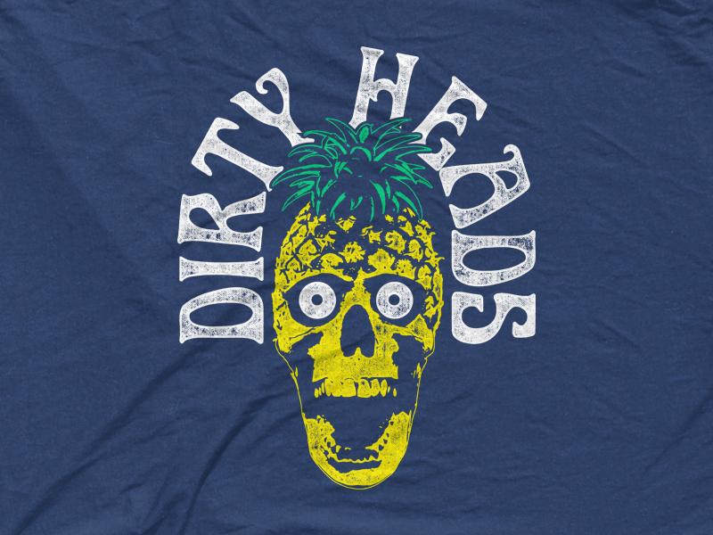 Dirty Heads - Pineapple Skull socal cali beach summer stoner surfer dirty heads pineapple skull tropical