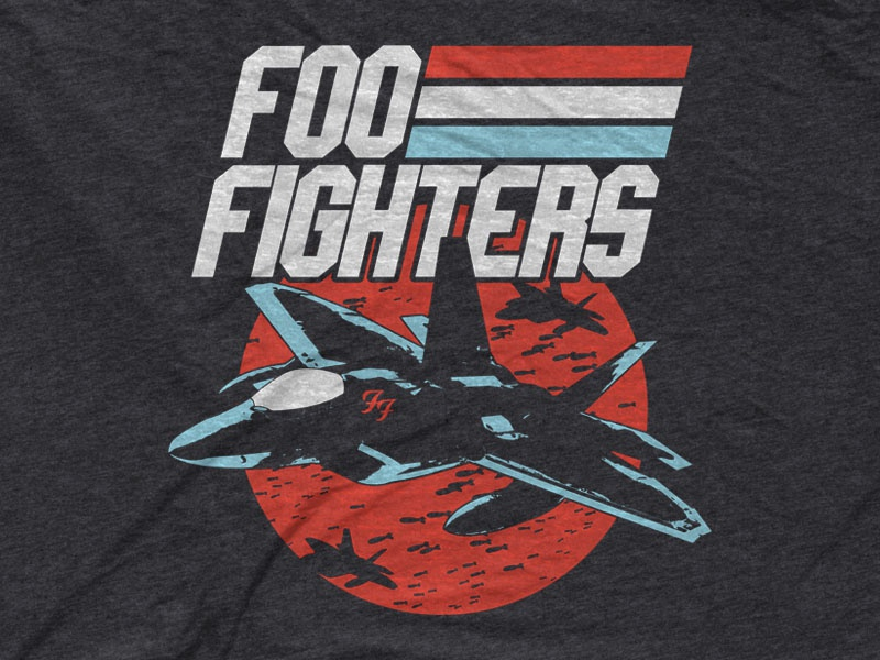 0a90927ef898 Foo Fighters - Fighter Jet shirt vintage bandmerch fighter jet jet usa  merica freedom foo fighters
