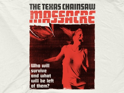 Terror Threads - Texas Chainsaw Massacre halloween leatherface 70s chainsaw retro vintage movie horror texas texas chainsaw massacre