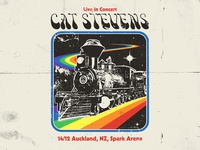 Yusuf Cast Stevens - Peace Train Poster