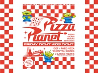 Toy Story - Pizza Planet Kids Night