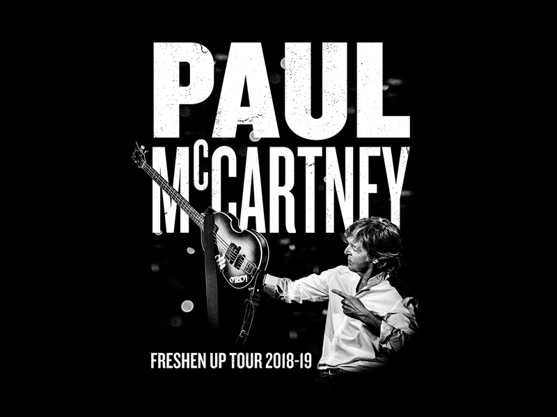 Paul McCartney - Freshen Up Tour Tee vintage music merch shirt apparel band bandmerch guitar tour freshen up paul mccartney