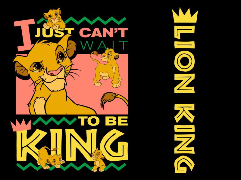 Lion King - 90s Simba retro vintage tee shirt tee logo design cartoon apparel fashion shirt disney art bootleg 90s africa simba pixar disney lion king