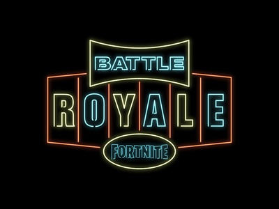 Fortnite - Neon Battle Royal