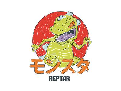Rugrats - Reptar Scribble