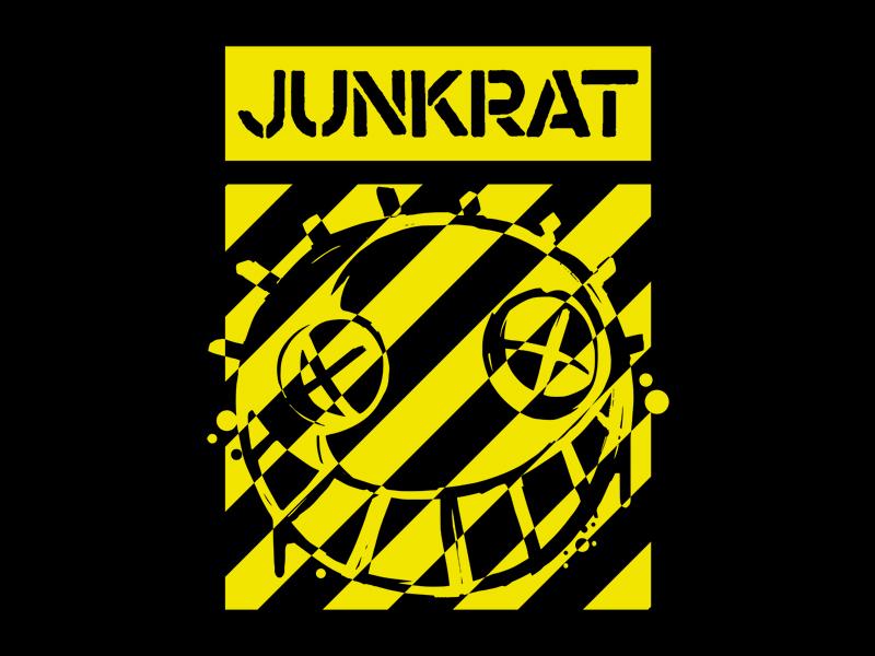 Overwatch - Junkrat Stripes graphic  design badge fashion branding tshirt apparel emblem graphic tee junkrat overwatch
