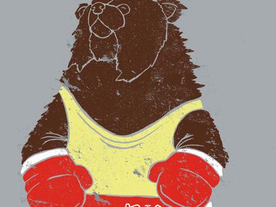 Bear boxer