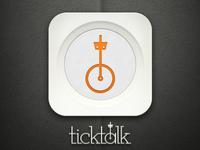 TickTalk iOS Icon