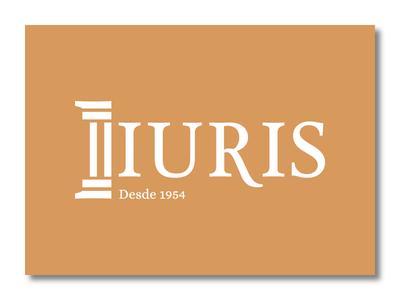 Iuris identity brand branding