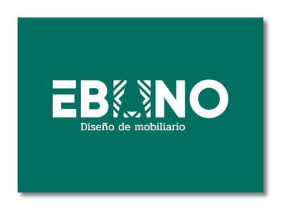 ÉBANO identity brand branding