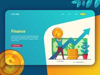 Finance - Landing Page