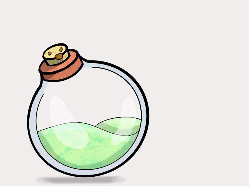 Potion Doodle illustration
