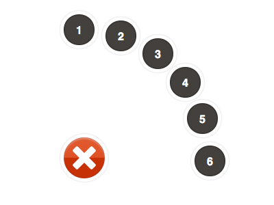 Path Menu CSS/HTML css3 compass sass