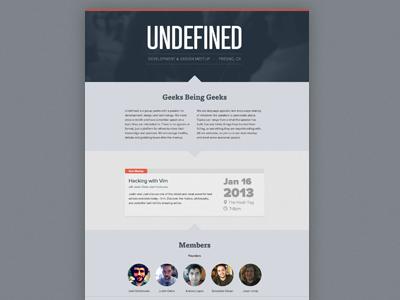 Undefined web meetup html5 css3 compass sass responsive angularjs