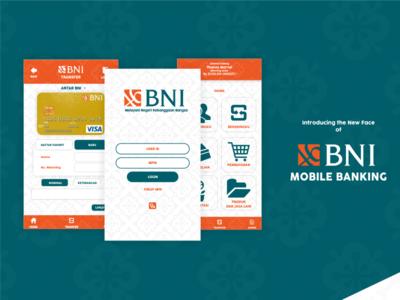 Bni Mobile Banking Dribbble
