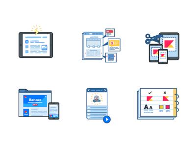 Pumika Deliverables #1 icon set ux ui illustration vector set icon icons web