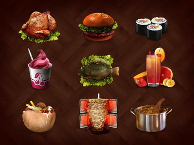 Food type Icons #1