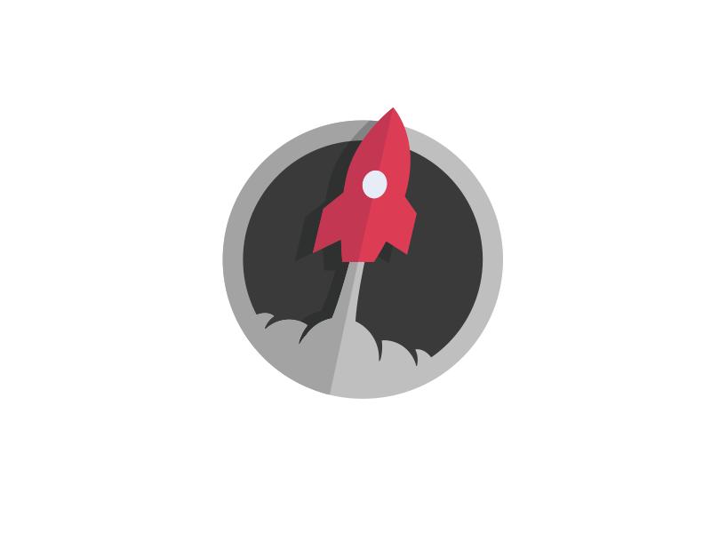Liftoff Sticker liftoff sticker icon rocket illustration badge code node