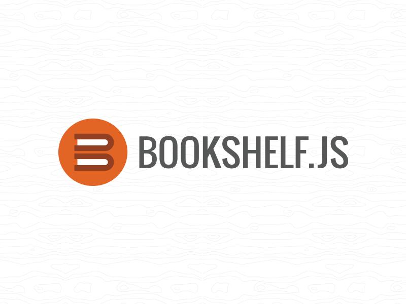Bookshelf.js javascript logo books bookshelf programming code open source icon flat