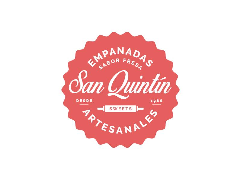 San Quintín Sweets sweets label logo empanadas