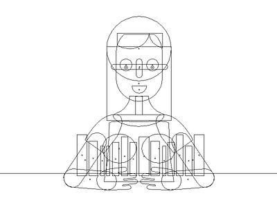 Outline illustration