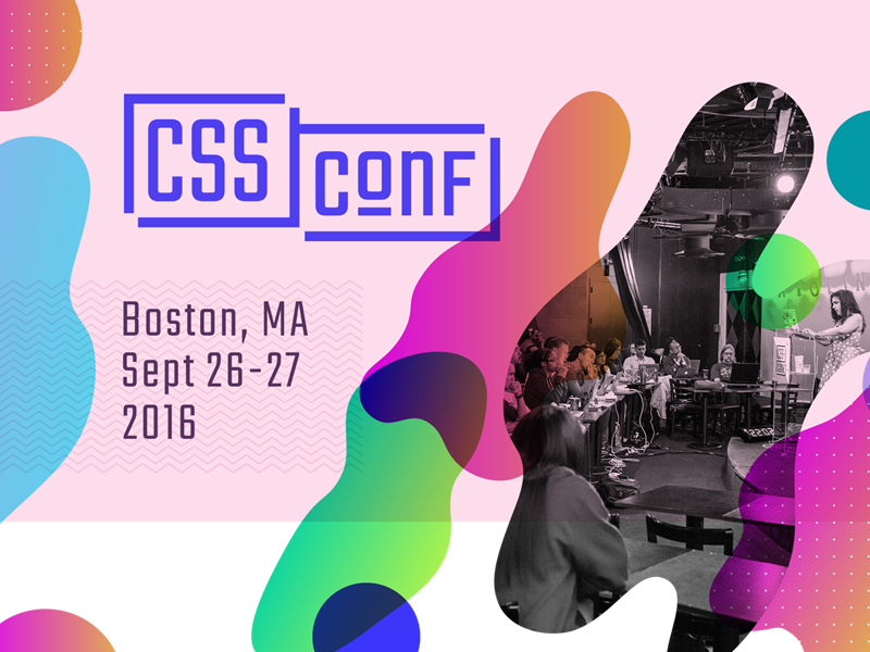 CSS Conf 2016 overlay conference boston lava lamp design css